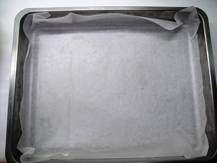 flat loaf plain bread baking tray